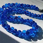 Necklace handmade. Livemaster - original item necklace natural blue spinel. Handmade.