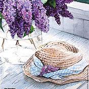 Картины и панно ручной работы. Ярмарка Мастеров - ручная работа Букет сирени. Handmade.