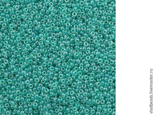 Для украшений ручной работы. Ярмарка Мастеров - ручная работа. Купить Бисер круглый Miyuki 15/0 536 Ceylon Aqua Green. Handmade.
