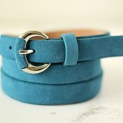 Аксессуары handmade. Livemaster - original item Copy of Copy of Copy of Yellow suede belt. Handmade.