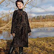 Одежда ручной работы. Ярмарка Мастеров - ручная работа Пальто из каракуля-каракульчи афганской. Handmade.