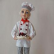 """Куклы и игрушки ручной работы. Ярмарка Мастеров - ручная работа Авторская Кукла """"Бабушкин помощник"""" из полимерной глины. Handmade."""