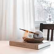 Материалы для творчества handmade. Livemaster - original item 4.5mm Cedar Wood Knitting Hook. K303. Handmade.