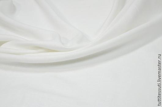 Шитье ручной работы. Ярмарка Мастеров - ручная работа. Купить Лен 02-003-2788. Handmade. Белый, ткани из италии