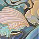 Фантазийные сюжеты ручной работы. Картина Сны Антареса выполненная на шелке в технике батика. Мария. Интернет-магазин Ярмарка Мастеров.
