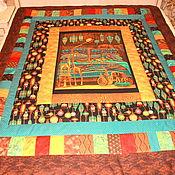 Для дома и интерьера ручной работы. Ярмарка Мастеров - ручная работа Лоскутное одеяло Принцесса на горошине. Handmade.