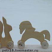 Материалы для творчества ручной работы. Ярмарка Мастеров - ручная работа Игрушки на колесах. Handmade.