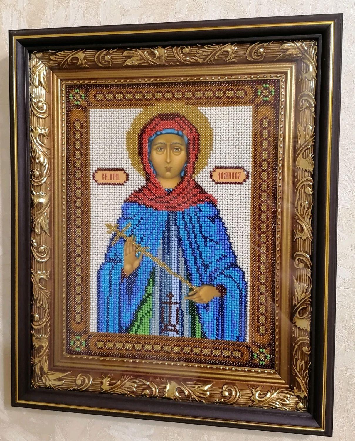 Икона св преподобной Домники, Иконы, Саранск,  Фото №1