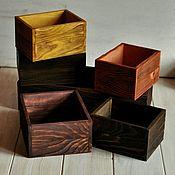 Для дома и интерьера ручной работы. Ярмарка Мастеров - ручная работа Деревянные ящики для хранения. Handmade.