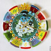 """Для дома и интерьера ручной работы. Ярмарка Мастеров - ручная работа Часы """"Паровозик из Ромашкова"""". Handmade."""