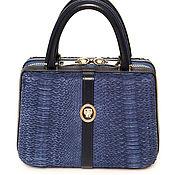 Сумки и аксессуары handmade. Livemaster - original item Stylish women`s bag made of Python NULLA PAMBU leather. Handmade.