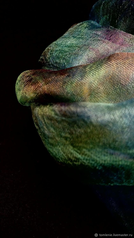 """Шелк """"Summer clouds"""", Материалы для валяния, Черкизово,  Фото №1"""