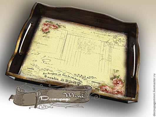 Кухня ручной работы. Ярмарка Мастеров - ручная работа. Купить Поднос №3. Handmade. Желтый, сувениры и подарки, сувенир