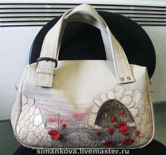 Женские сумки ручной работы. Ярмарка Мастеров - ручная работа. Купить весна. Handmade. Натуральная кожа, авторская сумка, кожа
