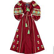 """Одежда ручной работы. Ярмарка Мастеров - ручная работа Длинное платье """"Пряная Роза"""". Handmade."""