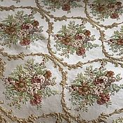 handmade. Livemaster - original item 280 cm Luxury jacquard fabric for curtains, Provence. Handmade.