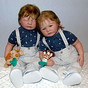 Малыши Оливер и Доменик