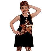 Одежда ручной работы. Ярмарка Мастеров - ручная работа Леопардовый костюмчик. Handmade.