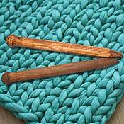 handmade. Livemaster - original item Large knitting Needles to knit of Wood 35mm/400#16. Handmade.
