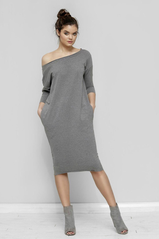 Купить Трикотажное Платье В Интернет