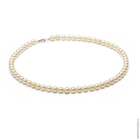 золотой жемчуг, морской жемчуг, жемчужное ожерелье,  купить жемчужное ожерелье, ожерелье из жемчуга, ожерелье из морского жемчуга
