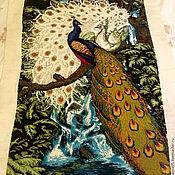 Картины и панно ручной работы. Ярмарка Мастеров - ручная работа Павлины у водопада. Handmade.