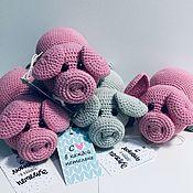 Мягкие игрушки ручной работы. Ярмарка Мастеров - ручная работа Свинка лежебока. Handmade.
