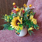 handmade. Livemaster - original item Mini bouquet #7. Handmade.