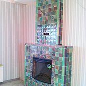 Для дома и интерьера handmade. Livemaster - original item Tiled fireplace