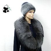 Аксессуары handmade. Livemaster - original item Fur detachable collar boa Fox fur.TC-257. Handmade.