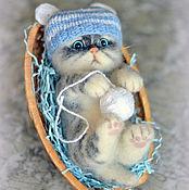 Куклы и игрушки ручной работы. Ярмарка Мастеров - ручная работа Котенок Митя. Handmade.