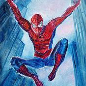 Картины и панно handmade. Livemaster - original item Picture spider-Man. Handmade.