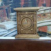 Часы классические ручной работы. Ярмарка Мастеров - ручная работа Резные часы. Handmade.