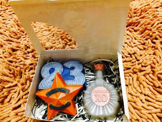 """Подарки для мужчин, ручной работы. Ярмарка Мастеров - ручная работа. Купить Мыло ручной работы """"23 февраля """". Handmade."""