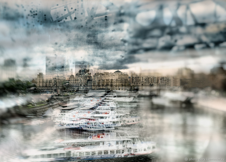 Небо безутешно Утро казалось чужим Без солнца лучей, Фотокартины, Москва,  Фото №1
