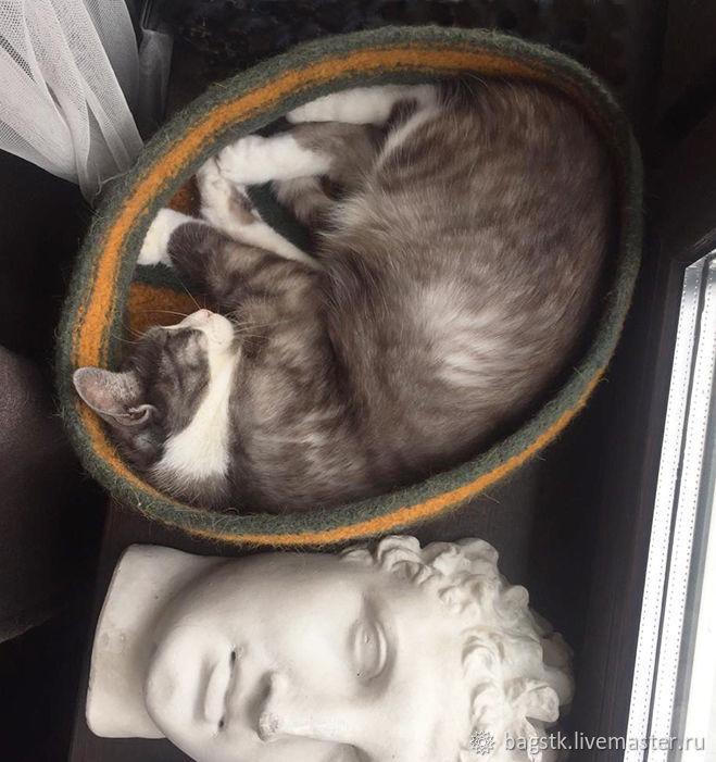 Лежанка для кошки Круговорот, Лежанки, Москва,  Фото №1