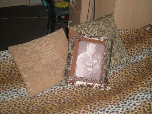 Текстиль, ковры ручной работы. Ярмарка Мастеров - ручная работа. Купить подушка с фото для примера. Handmade. Подарок, подушка декоративная