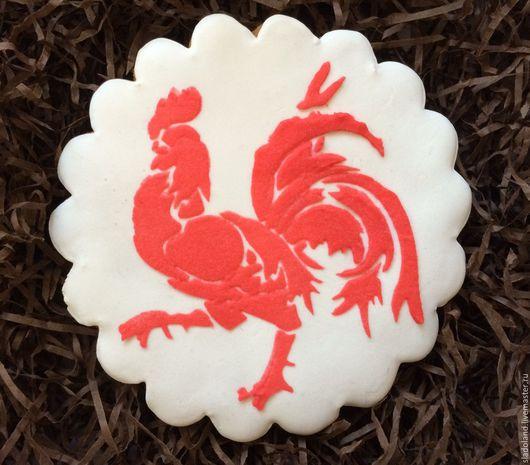 Кулинарные сувениры ручной работы. Ярмарка Мастеров - ручная работа. Купить Пряник новогодний символ года. Handmade. Комбинированный, подарок