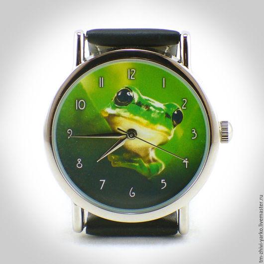 """Часы ручной работы. Ярмарка Мастеров - ручная работа. Купить Часы наручные """"Изумрудная"""". Handmade. Часы, наручные часы"""