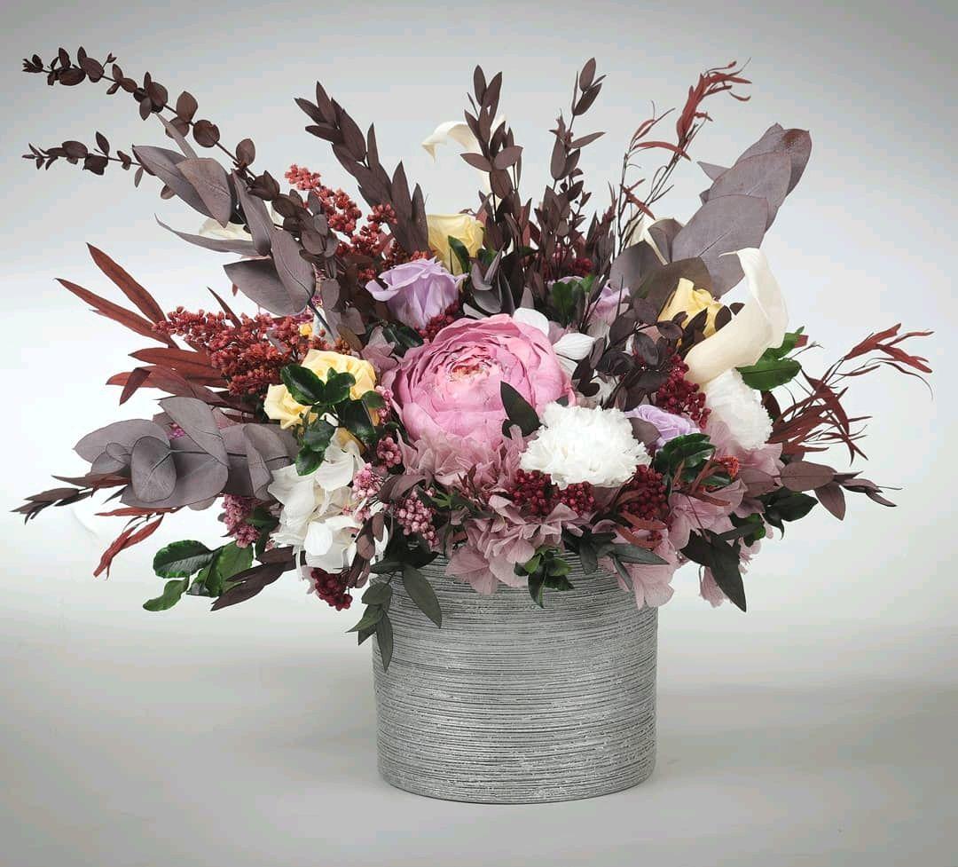 Стабилизированные цветы купить интернет магазин москва, букет для