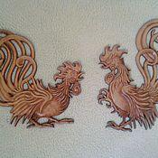 Винтаж handmade. Livemaster - original item Vintage mural on the wall