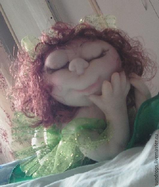 Куклы-младенцы и reborn ручной работы. Ярмарка Мастеров - ручная работа. Купить Сладкий сон. Handmade. Интерьер, разноцветный, фатин