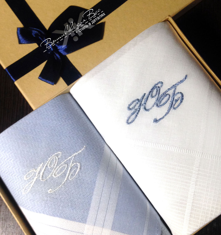 handkerchief bow men's embroidered monogram initials monogram handkerchief  bow men's embroidered monogram initials monogram ...