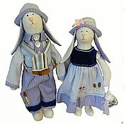 Куклы и игрушки ручной работы. Ярмарка Мастеров - ручная работа Сельская интеллигенция. Handmade.