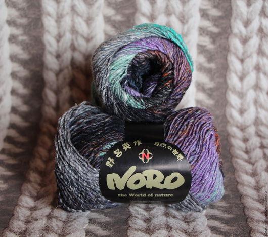 Вязание ручной работы. Ярмарка Мастеров - ручная работа. Купить Noro Janome (цвет 18). Handmade. Комбинированный, пряжа норо