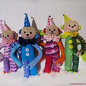 Куклы и игрушки ручной работы. Ярмарка Мастеров - ручная работа Цирковые обезьянки. Handmade.