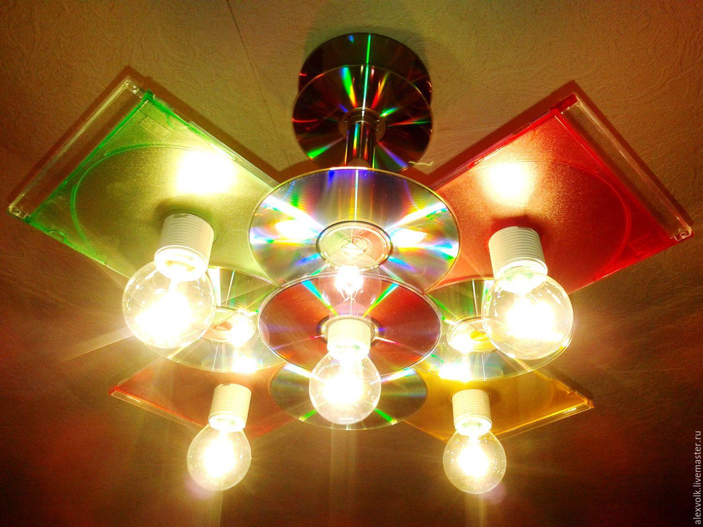 Светильники своими руками в домашних условиях фото
