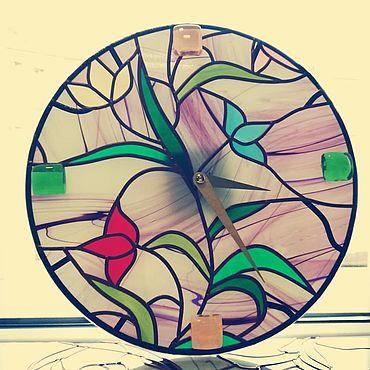 """Для дома и интерьера ручной работы. Ярмарка Мастеров - ручная работа Часы: """"Принцесса"""". Handmade."""