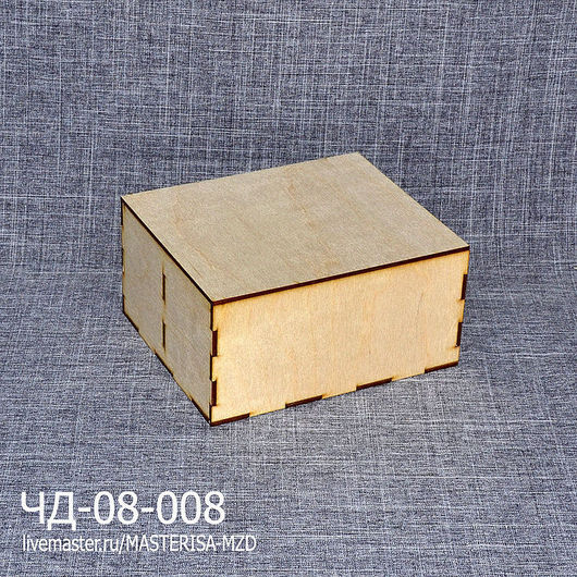 ЧД-08-008. Чайная шкатулка на 2 вида чая.
