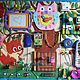 """Развивающие игрушки ручной работы. Ярмарка Мастеров - ручная работа. Купить Развивающая доска для детей """"Лисёнок"""". Handmade. Разноцветный, мальчик"""